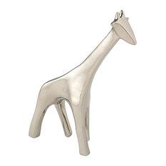 Giraffe Objet, Silver