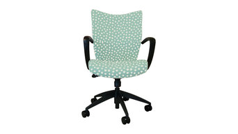 Home Office Desk Chair with Kravet Clio Fabric