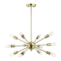 Zeplin 12-Light Sputnik Chandelier