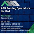 APK Roofing Specialists Limited's profile photo