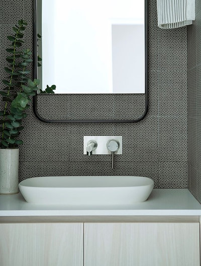 Modern Powder Room by Collected Interiors