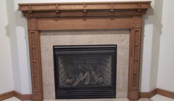 Quarter-sawn Red Oak Fireplace Surround- Parade Home