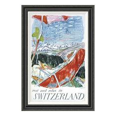 """""""Switzerland"""" Artwork, 25""""x36"""""""