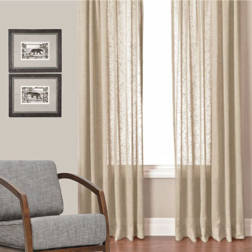 Sheer Curtains beige sheer curtains : Sheer Curtains