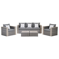 Tropical Outdoor Lounge Sets by Amazonia