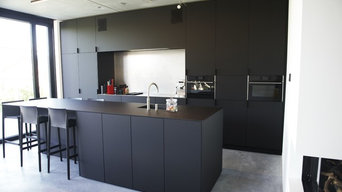 Black Kitchen made of FENIX NTM Nero Ingo