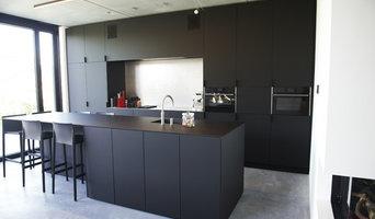 Black Kitchen made of FENIX NTM Nero Ingo