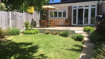 Back Garden in Barnet