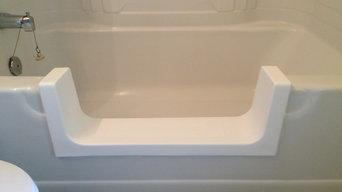 Bath tub cut-aways