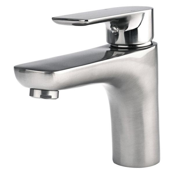 Single-Handle Bathroom Faucet Brushed Nickel