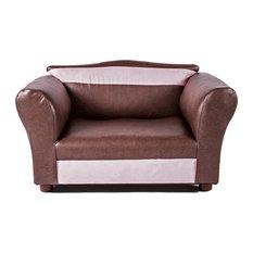 Mini Sofa Sweet Brown Pet Bed