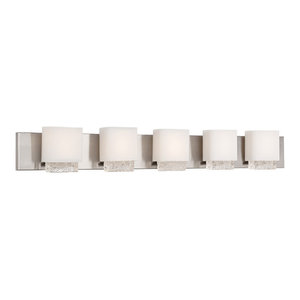 """Modern Forms Fusion LED Bath and Wall Light, 45"""""""