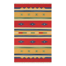 "Pasargad Anatolian Collection Hand-Woven Cotton Area Rug- 4' 0"" X  6' 0"""