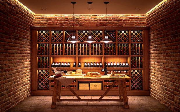Rustic Wine Cellar by АРТТИМ ПРО