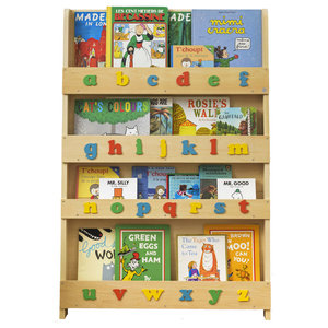 Children's Alphabet Bookcase, Natural