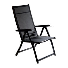 Otto Trading Inc - Heavy Duty Adjustable Reclining Folding Chair Set of 2 - Outdoor  sc 1 st  Houzz & 50 Most Popular Outdoor Folding Chairs for 2018 | Houzz