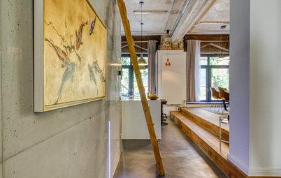 Umbau in Stuttgart: Ein Loft aus Beton und Glas im Baudenkmal