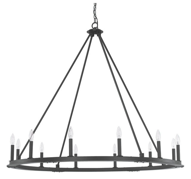 Capital lighting 4912 000 pearson 12 light chandelier transitional pearson 12 light chandelier black iron aloadofball Choice Image