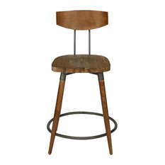 "INK+IVY Frazier Counter Stool 24"" With Back"