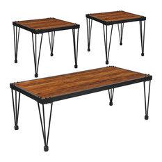 Flash Furniture Baldwin 3-Piece Occasional Table Set