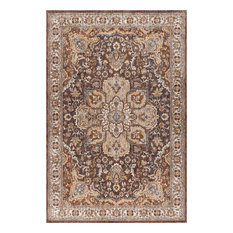Finley Traditional Oriental Multi-Color Rectangle Area Rug, 8' x 10'
