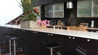 Modern Rewood Kitchen
