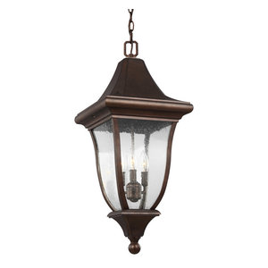 Feiss 3-Light Outdoor Pendant Lantern