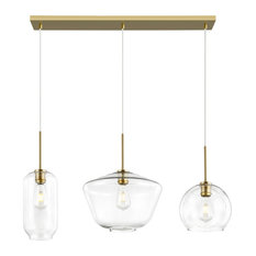 Colby 3-Light Chandelier and Island Light