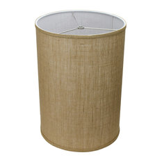 Fenchel Shades 12 X X17 Fenchelshades Drum Lampshade Burlap Natural