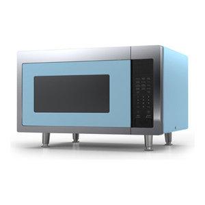 Retro Microwave, Beach Blue