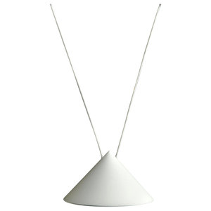 Kefren White Pendant Light