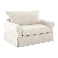 Avenue 405 Addison Sleeper Chair, Cream by Avenue 405