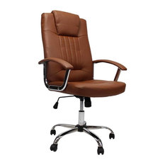 Superb Office Chair, Cognac