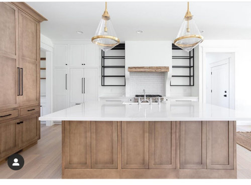 Custom Kitchen Cabinet Stain Color