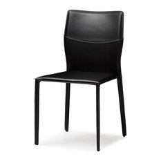 Alex Dining Side Chair Black