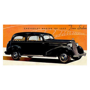 1935 Chevrolet Master Deluxe Coupe Promotional Advertising