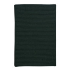 Colonial Mills, Inc - Colonial Mills Simply Home Solid H109 Dark Green Rug, 8x8 - Outdoor Rugs