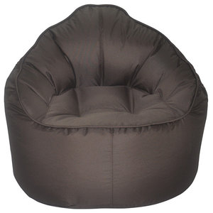 The Giant Pod, Bean Bag Chair, Brown