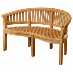 Transitional Outdoor Benches by Tuff Hut