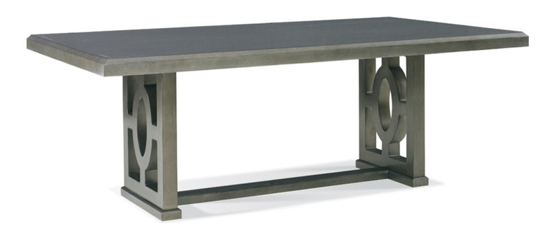 MA320-13CH Milan Rectangular Dining Table