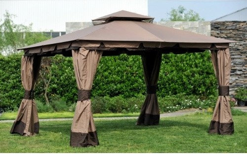 & Big Lots 10x12 Monterey Gazebo Deluxe Canopy Set