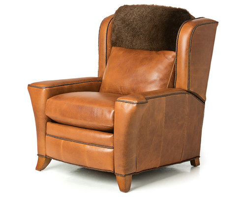 Montana Buffalo Leather Lounger   Armchairs And Accent Chairs Nice Look