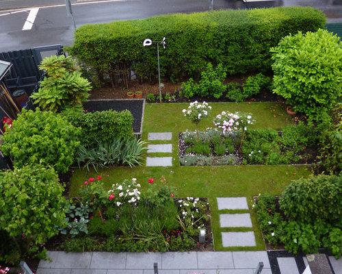 formaler reihenhausgarten,