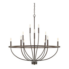 "Capital Lighting 428501 Greyson 12 Light 40"" Wide Taper Candle Chandelier"
