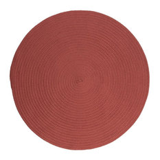 Colonial Mills, Inc - Boca Raton Rug, Terracotta 12', Round - Outdoor Rugs