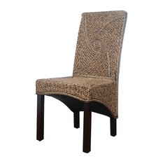 International Caravan   International Caravan Bali Lambada Woven Dining  Chair   Dining Chairs