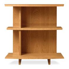 Berkeley/Monterey Shelf Nightstand Natural Cherry Left Side