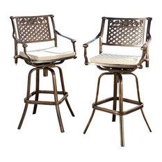 Cast Aluminum Outdoor Patio Furniture Houzz
