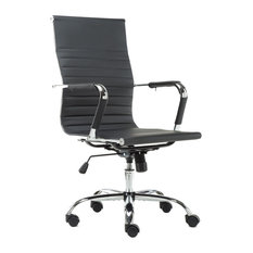 Btexpert High Back Swivel Adjule Office Executive Chair Black Chairs