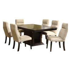Piece Dining Room Sets Houzz - 9 piece dining room sets